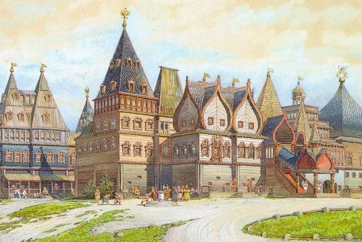 Восьмое чудо света — дворец царя Алексея Михайловича