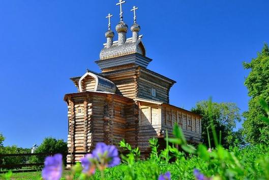 Коломенское. К истокам Руси. Музей деревянного зодчества