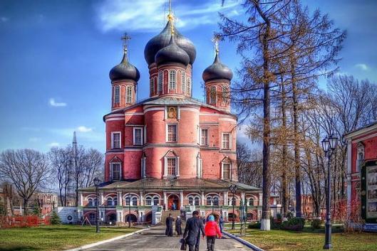 Донской монастырь. Четыре века русской истории