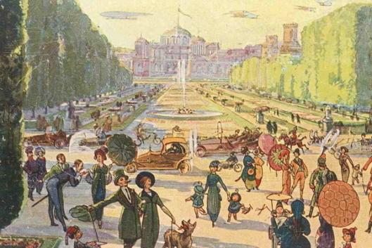 Петровский парк и его обитатели