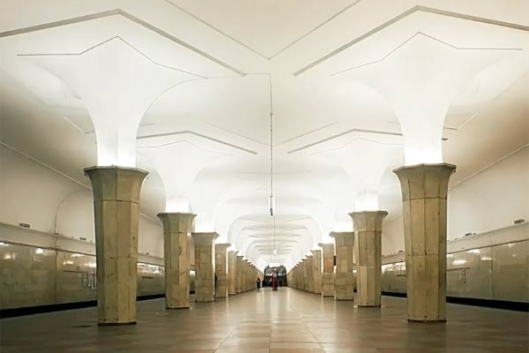 От Сокольников до Парка на метро