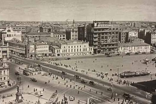 Пушкинская площадь и окрестности