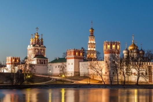 Прогулка по Новодевичьему монастырю